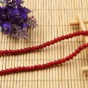 Beads, Glass, Burgandy , Round shape, Diameter 4mm, 40 Beads, [BHB0122]